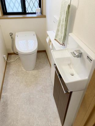 トイレ&手洗器リフォーム