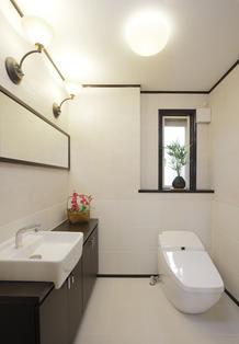 応接室のようなトイレ空間