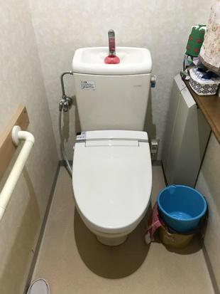 シャワートイレ取替え、これぞPATTOリフォーム