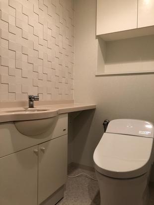 エコカラットで空気も爽やかなトイレ空間に 北九州市八幡西区 M様邸 トイレリフォーム