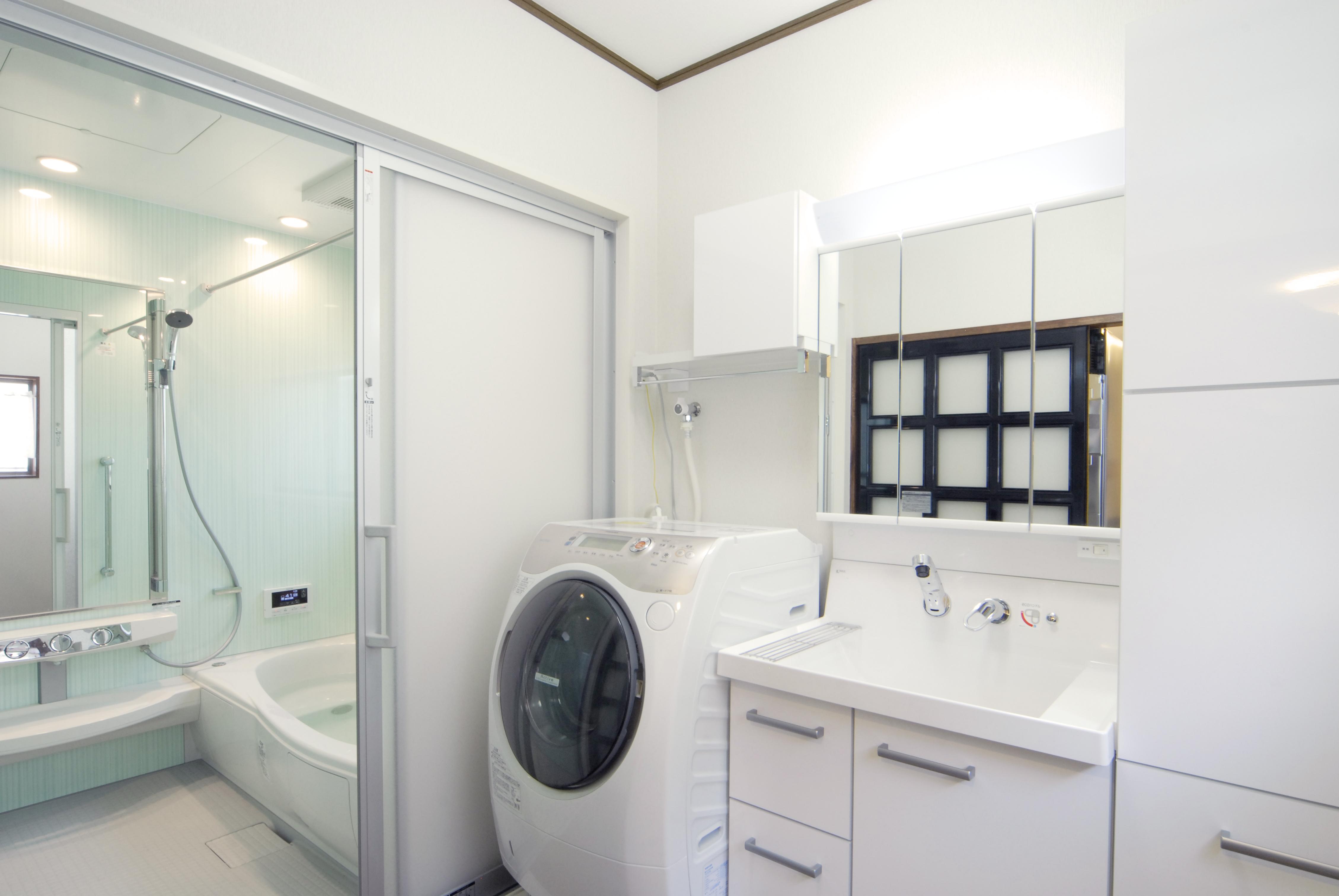 浴室・洗面脱衣所のスペースを ...