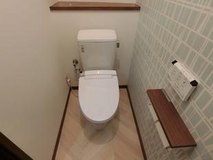 アメージュZ~壁紙・床も一新し、オシャレなトイレ空間に~