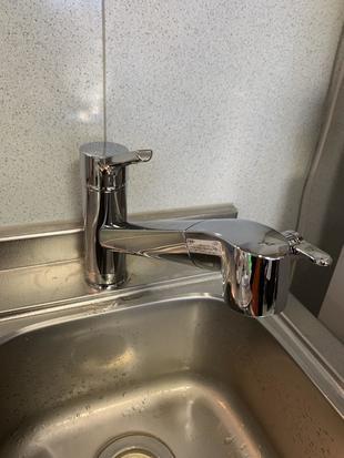 大分市 H様邸 キッチン水栓金具 交換
