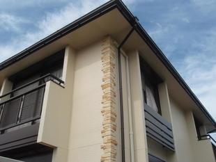 屋根と外壁塗装(南欧風)