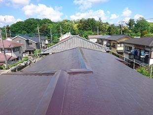 守谷市 T様邸 屋根塗装工事