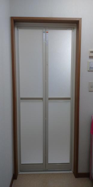 リフォーム浴室ドア交換工事
