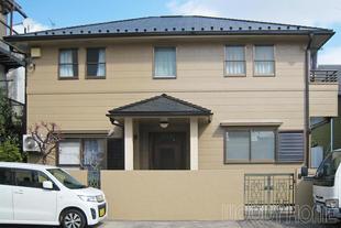 外壁塗装とカバー工法による屋根リフォーム
