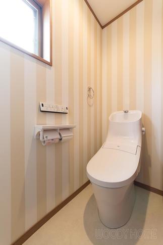 増築した2階トイレルーム