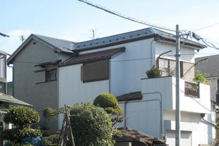 千葉市稲毛区 瓦屋根からガルバリウム鋼鈑屋根への葺き替え