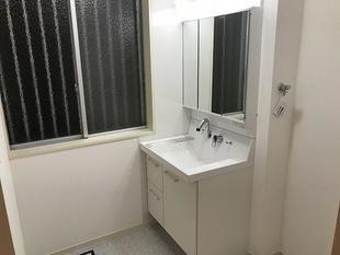 洗面化粧室リフォーム工事(相模原市南区・F様邸)