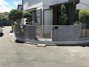 外構フェンス工事(東京都・M様邸)