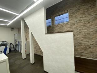 室内階段新設工事(相模原市・店舗)