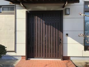 インプラス取付・玄関ドア交換工事(相模原市・K様邸)