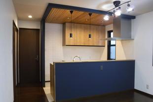 2世帯用にキッチン新設