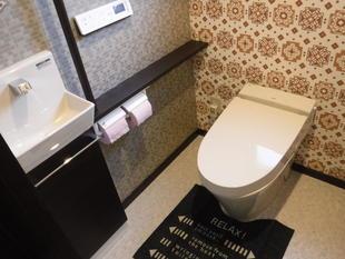 手狭なトイレをゆったりトイレに改装