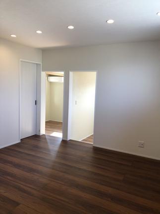 新築のような二階リビング、日当たりの良い子供部屋に大変身!