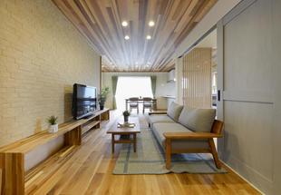 上田市 リフォーム フルリノベーション「南欧風ダブル断熱の家」