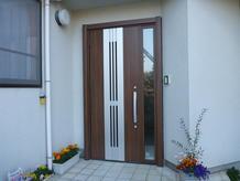 風通しのよい採風ドアへリフォーム