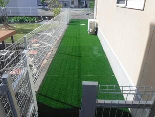 最近の人工芝はおすすめです。(南アルプス市)
