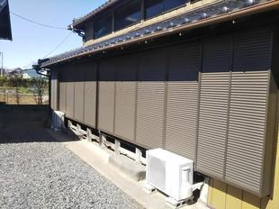 埼玉県加須市:窓の台風対策リフォーム