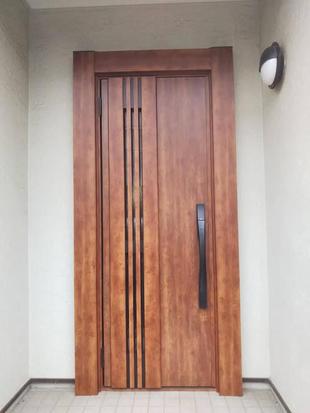 玄関リフォーム:タッチキーでストレス軽減