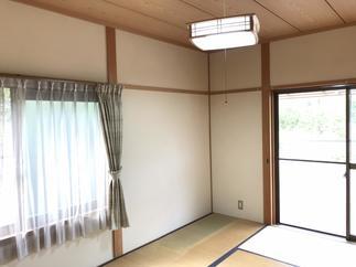 和室も壁の塗替えリフォーム