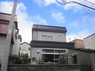 市のリフォーム助成金を使って、屋根の形状を変更しました!