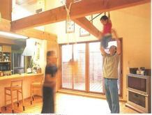 子どもがのびのび遊べる部屋づくり(2011.03.01)