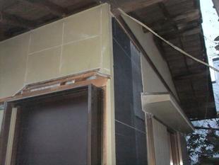 木造住宅の耐震改修(外部からの補強)
