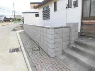 ブロック塀修繕工事