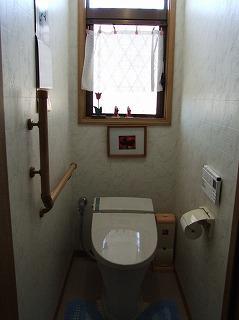 節水トイレに改装!エコポイントも。(2011.05.10)