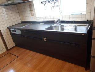 セラミック天板のキッチンへリフォーム