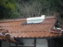 太陽熱温水器取替工事