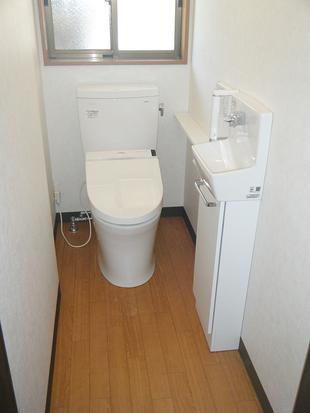 U様邸 トイレ新設工事