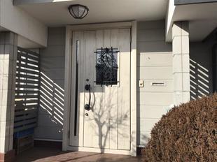 こんな玄関ドアにしたいんです。