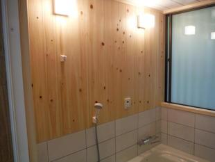軽井沢別荘 浴室改修工事