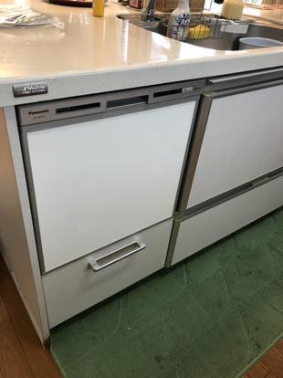食洗機の取替工事