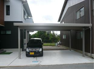 鳥取県米子市 S様邸 カーポート新設工事