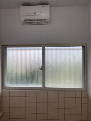鳥取県 米子市 浴室暖房換気扇工事