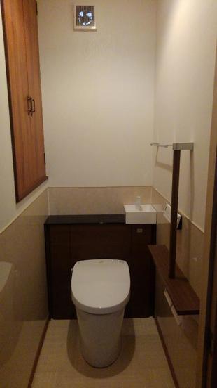 鳥取県米子市 2階寝室横トイレ新設工事