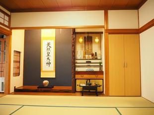鳥取県米子市 E様邸和室 クロスリフォーム工事