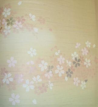 襖の桜柄がアクセントになって素敵です。