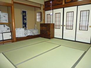 鳥取県米子市 K様邸 畳・襖貼替え