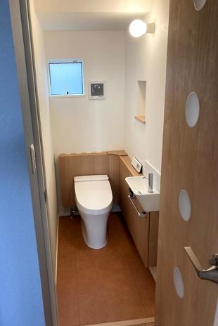 鳥取県米子市 N様邸トイレ設置工事