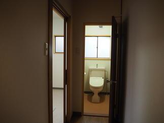 トイレ移設工事 after