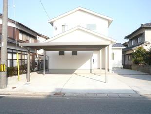 鳥取県 境港市 M様邸カーポート・フェンス工事