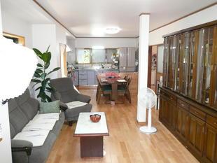 鳥取県西伯郡 M様邸 リビングダイニング・キッチンリフォーム(床の傾き改修工事)