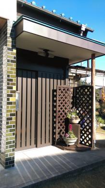 栃木市I様邸 玄関ドア交換工事