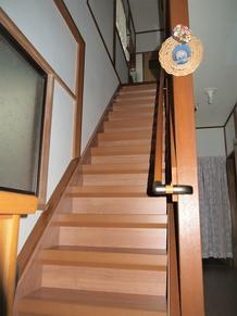 新築二世!階段だってリフォームします!下多賀・M様邸。