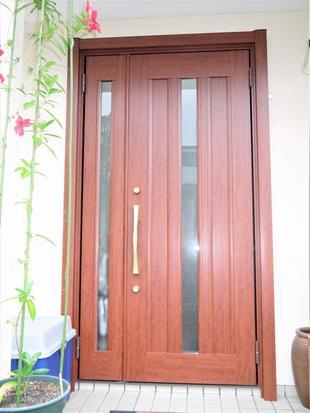 熱海で戸建てリフォーム!玄関ドア・下多賀 M様邸。